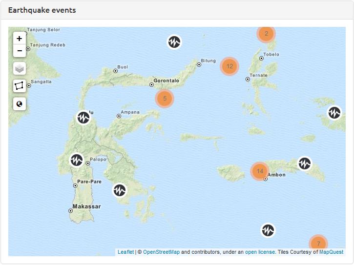 realtime-earthquakes