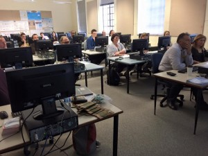 Attentive workshop participants — at The University of Western Australia.