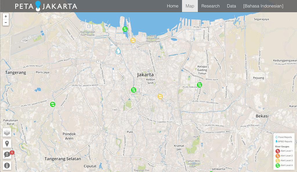 PetaJakarta Version 2